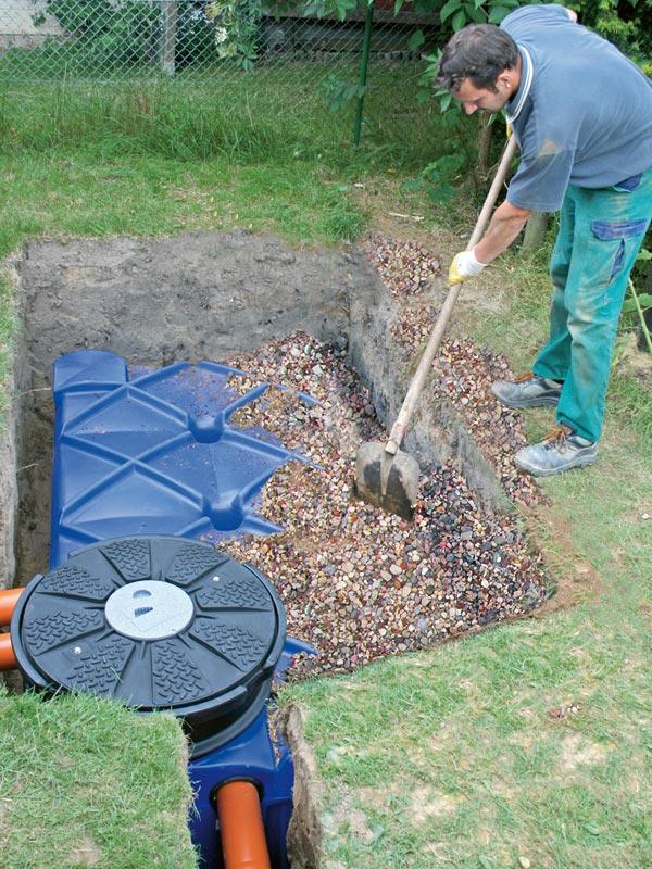 drainage im garten drainage im garten wie tief carprola. Black Bedroom Furniture Sets. Home Design Ideas